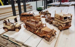 Customer Design by Wayne Montz Toy Vehicles