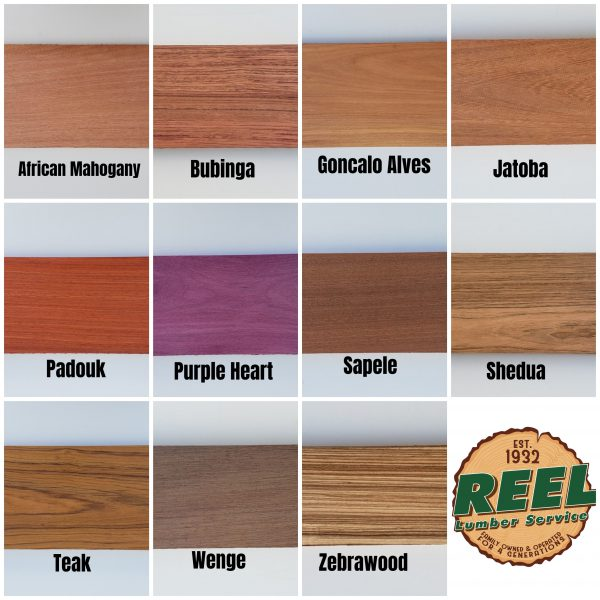 Exotic Hardwood Lumber