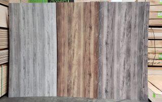 Wood Grain Textured Panels Melamine Plywood