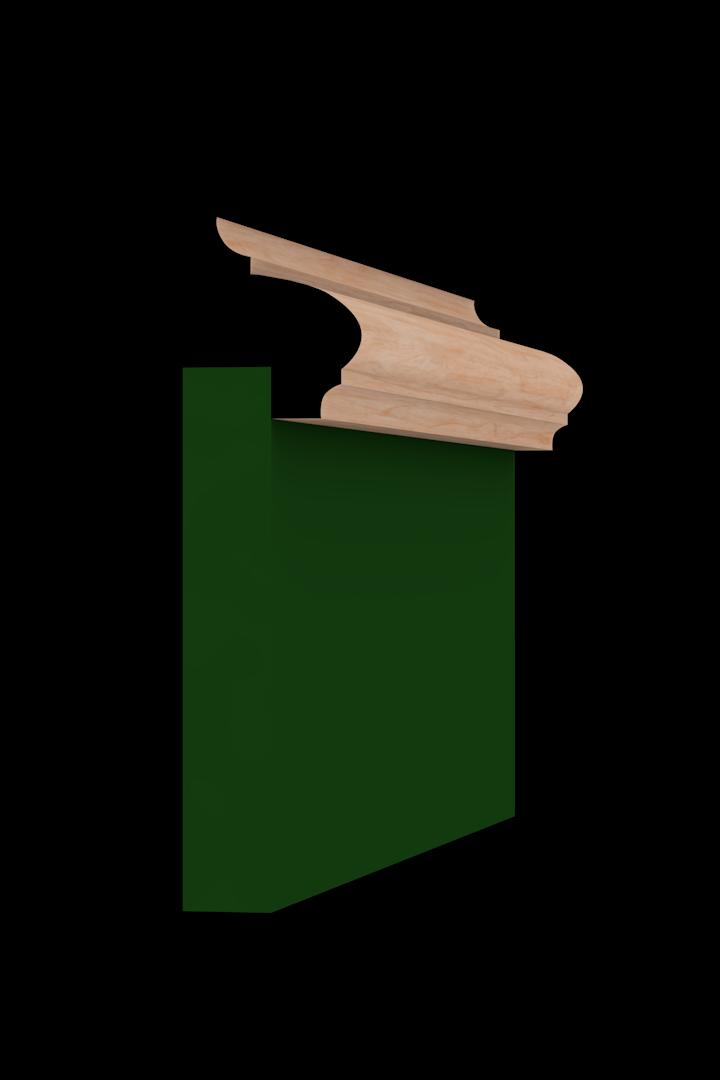 Base Cap 1340 Hardwood Moulding Molding