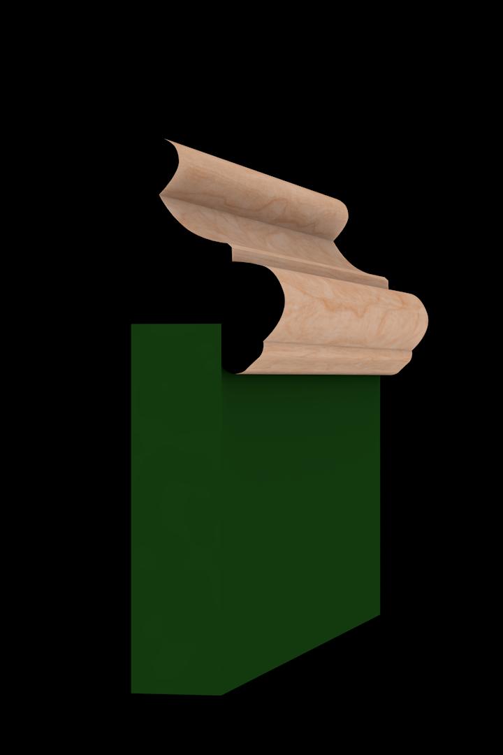 Base Cap 1350 Hardwood Moulding Molding