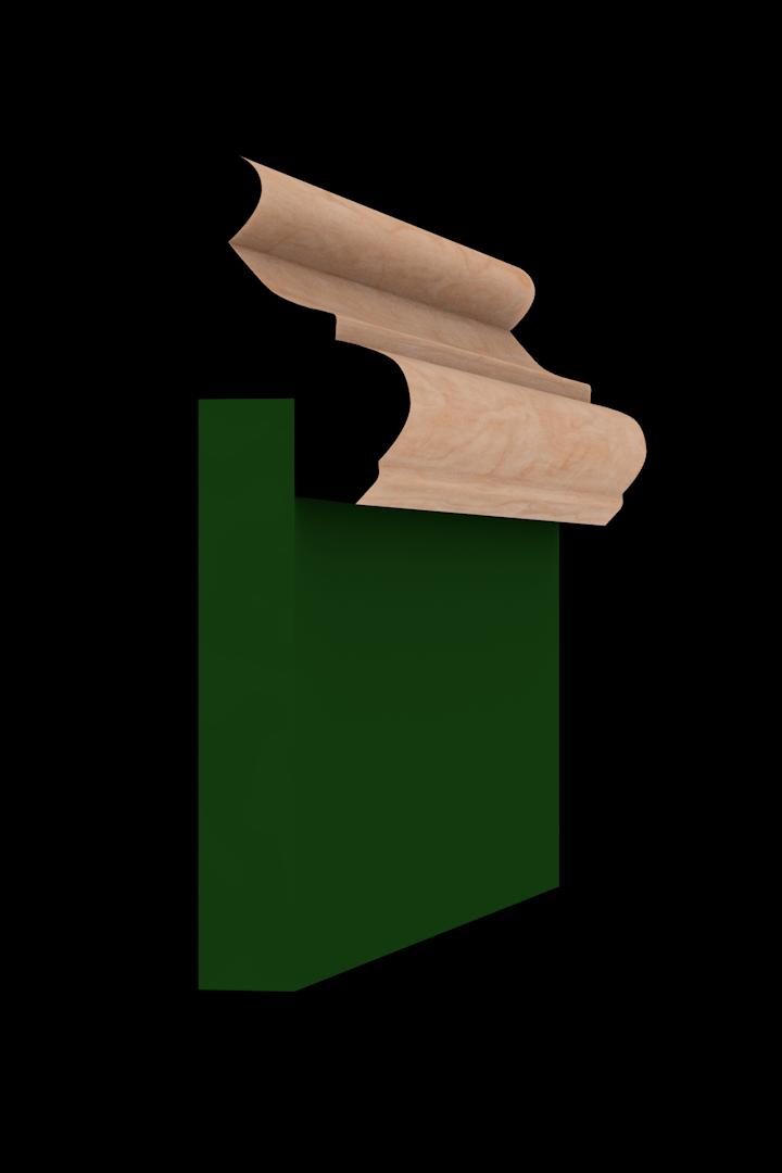 Base Cap 1351 Hardwood Moulding Molding