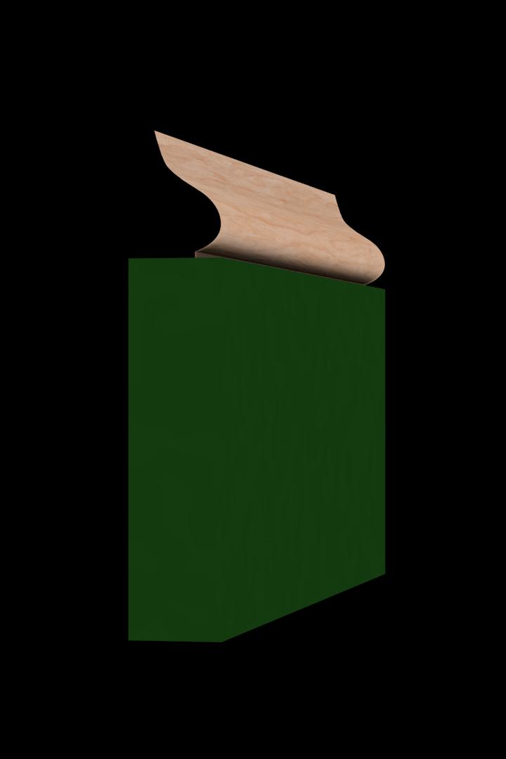 Base Cap 1440 Hardwood Moulding Molding