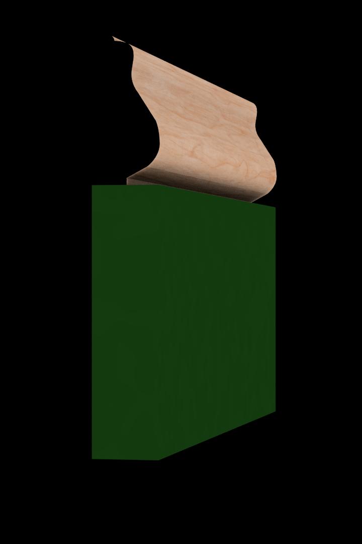 Base Cap 1480 Hardwood Moulding Molding