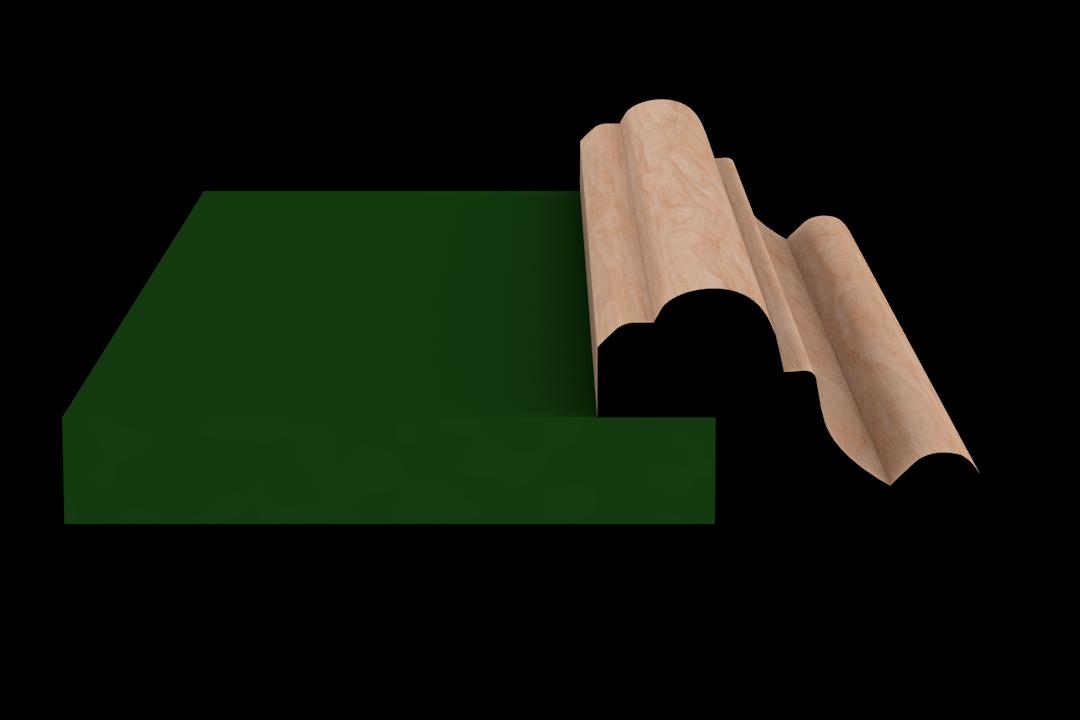 Rabbet 1351 Hardwood Moulding Molding