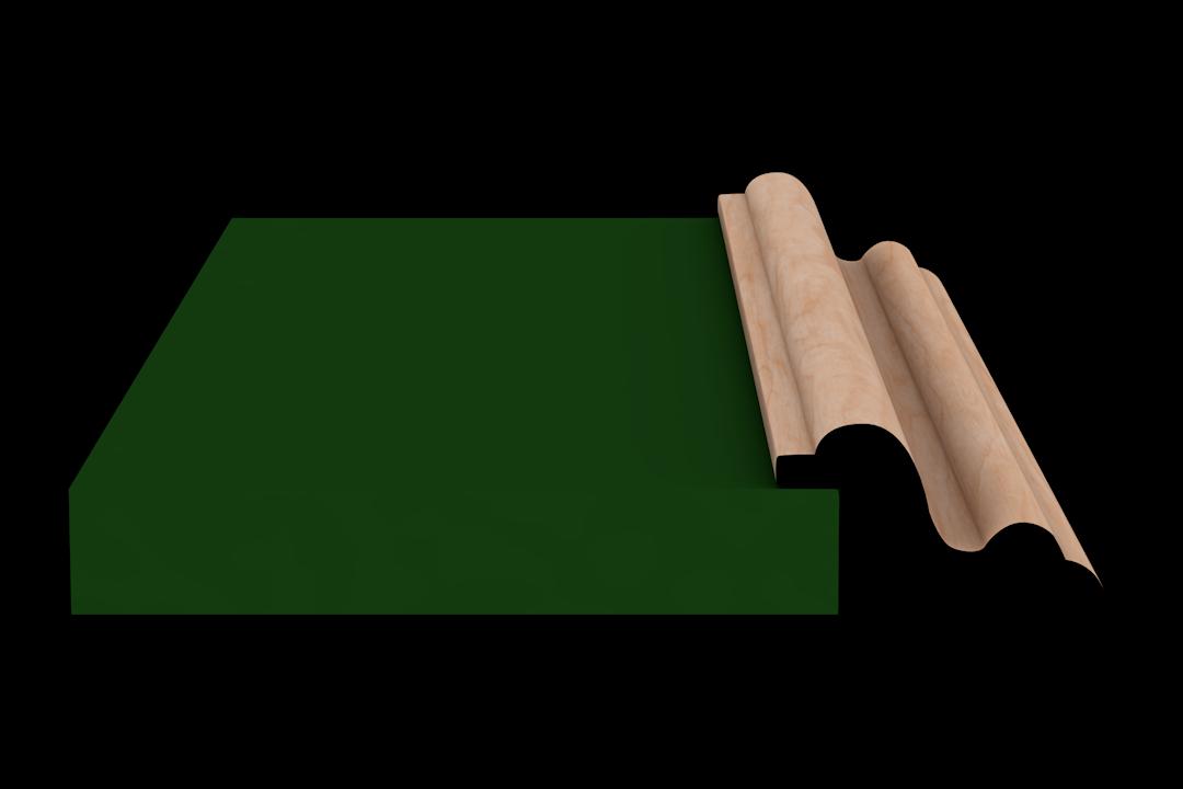 Rabbet 1370 Hardwood Moulding Molding