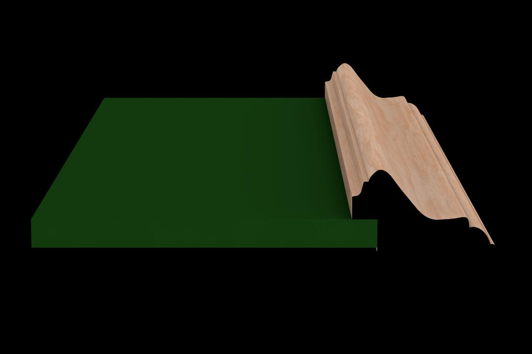Rabbet 1390 Hardwood Moulding Molding