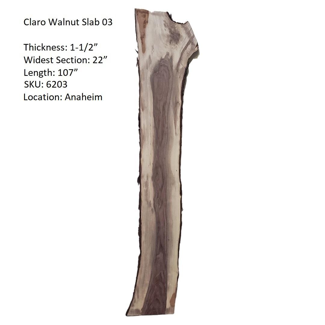 Claro Walnut Slab